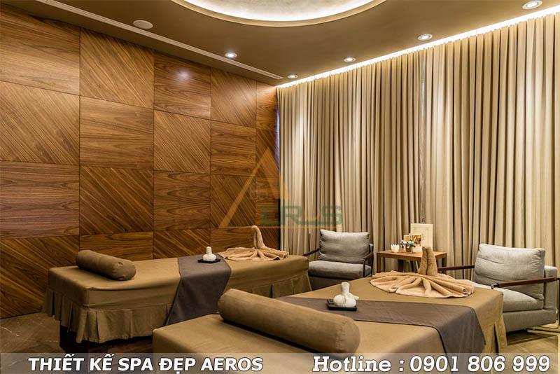 thiết kế spa khách sạn