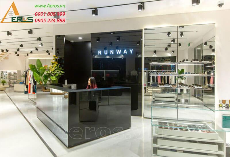 Thiết kế shop thời trang Runway