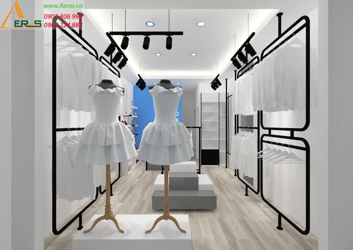 báo giá thiết kế thi công shop thời trang