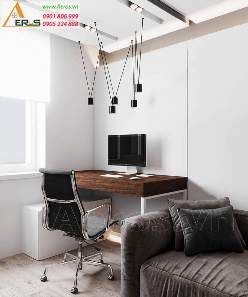 Thiết kế thi công nội thất chung cư chị Nguyệt
