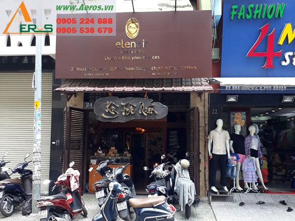Thiết kế thi công quán trà sữa Elenoir - Phú Nhuận