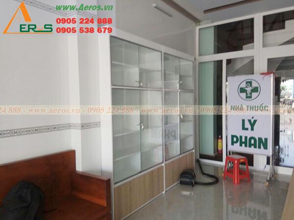 Thiết kế thi công nhà thuốc Lý Phan