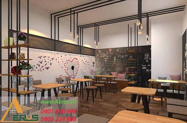 Top 10 mẫu thiết kế quán ăn đẹp nhất 2019