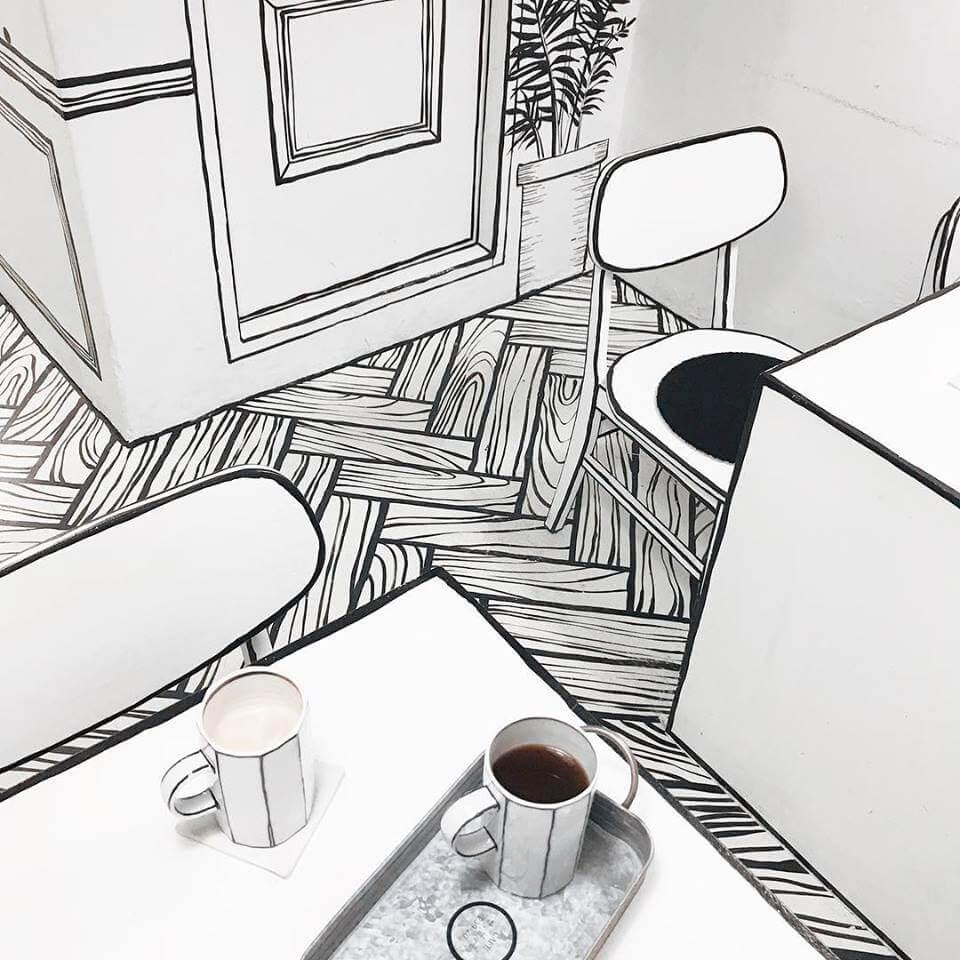 những quán cafe độc đáo trên thế giới