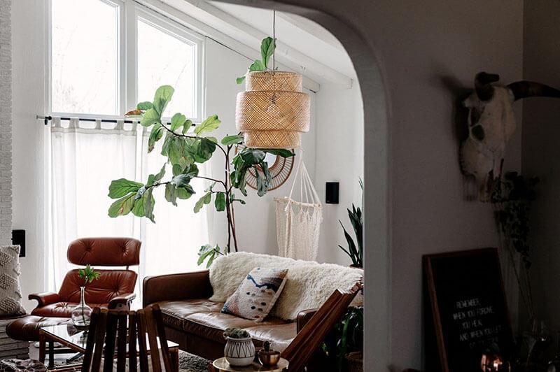 phong cách bohemian trong nội thất