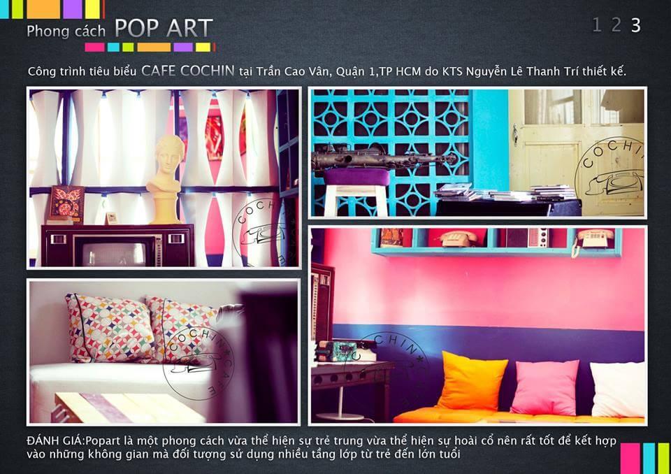 các phong cách thiết kế nội thất