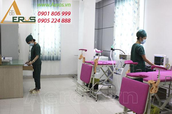Thiết kế thi công nội thất phòng khám đa khoa Hữu Thọ
