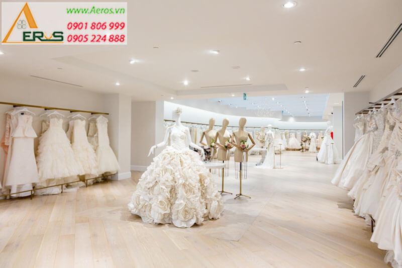 Hình ảnh thiết kế showroom áo cưới