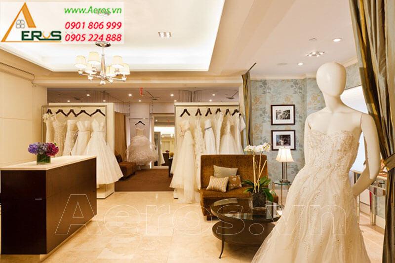 Hình ảnh thiết kế thi công showroom váy cưới Doly - Quận 1