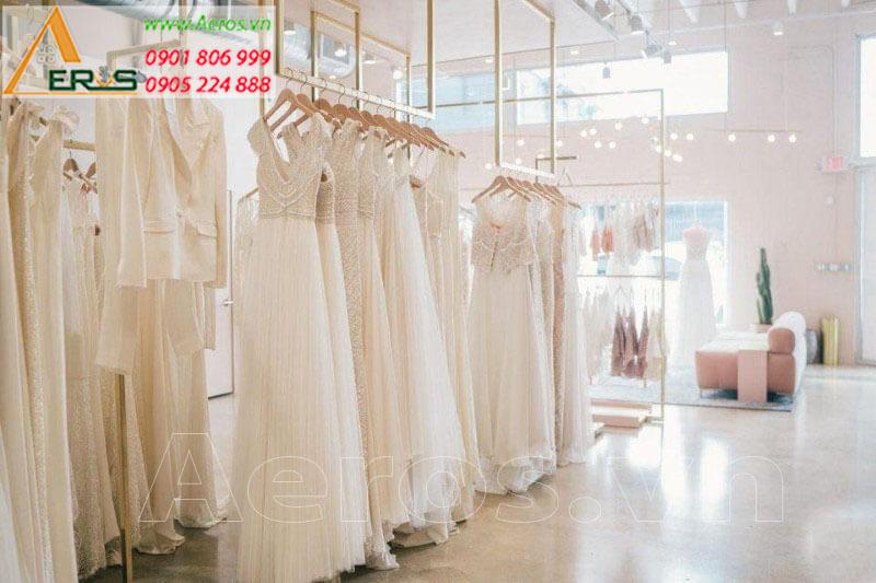 Hình ảnh thiết kế thi công Showroom váy cưới