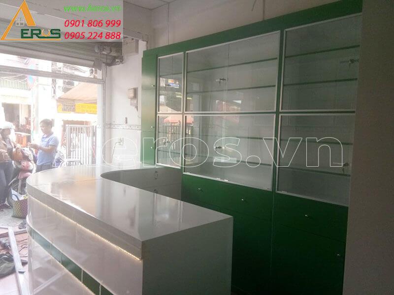 Hình ảnh thi công nhà thuốc tây Phương Thư tại quận 8, TPHCM