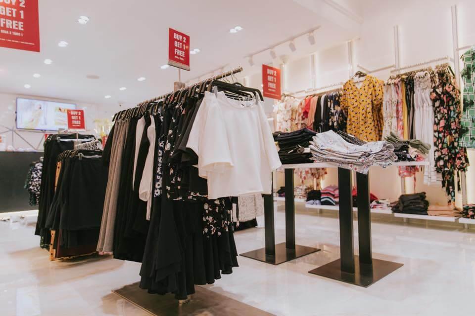 thi công  shop thời trang Mentosa quận Tân Bình, TPHCM
