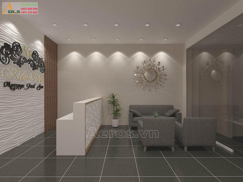 Hình ảnh thiết kế thi công spa Kiều Vũ