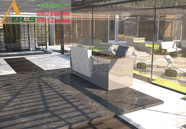 Thiết kế nội thất Bông Spa tại quận 1, TP.HCM