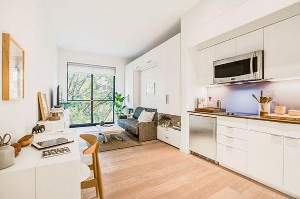 Thiết kế căn hộ chung cư 33m2