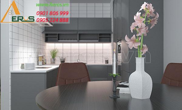 Thiết kế căn hộ anh Tân chung cư Thuận Kiều Plaza tại quận 5