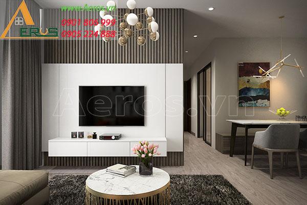Thiết kế thi công căn hộ của chị Loan chung cư Dreamhome tại Gò Vấp, TP.HCM