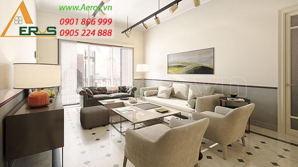 Thiết kế nội thất căn hộ của chị Tâm tại chung cư Celadon City quận Tân Phú, TP.HCM