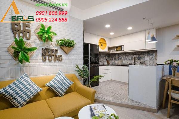 Thiết kế nội thất căn hộ chị Thảo chung cư Central Premium tại quận 8, TP.HCM