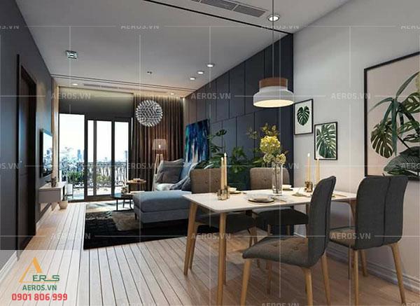 Thiết kế nội thất chung cư Centum Wealth tại quận 9, TP.HCM