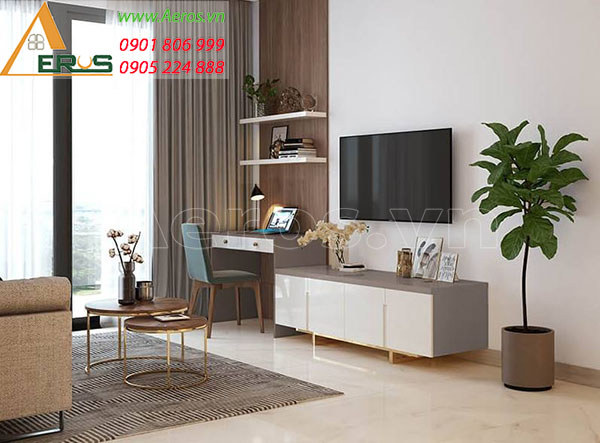 Thiết kế nội thất căn hộ chung cư New City của anh Trí tại quận 2, TP.HCM