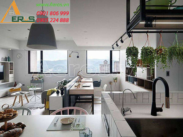 Thiết kế nội thất căn hộ của chị Ngân chung cư The Western Capital tại quận 6, TP.HCM