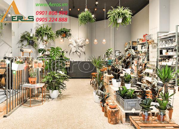 Top 10 mẫu thiết kế cửa hàng bán cây cảnh đẹp nhất 2019
