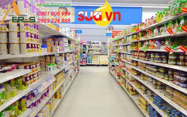 Top 10 mẫu thiết kế cửa hàng bán sữa đẹp nhất 2019
