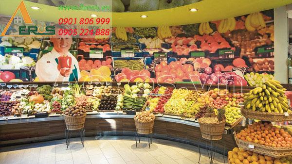 Top 10 mẫu thiết kế cửa hàng hoa quả sạch đẹp nhất 2019