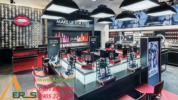 Top 10 mẫu thiết kế cửa hàng make up đẹp nhất 2019