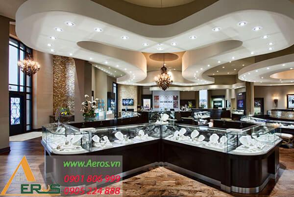 Top 10 mẫu thiết kế cửa hàng vàng bạc đẹp nhất 2019