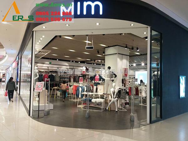 Thiết kế thi công shop thời trang anh Tùng - Bình Tân
