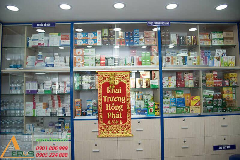 thiết kế nhà thuốc