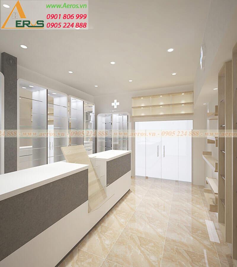 Thiết kế thi công nhà thuốc Thu Trang