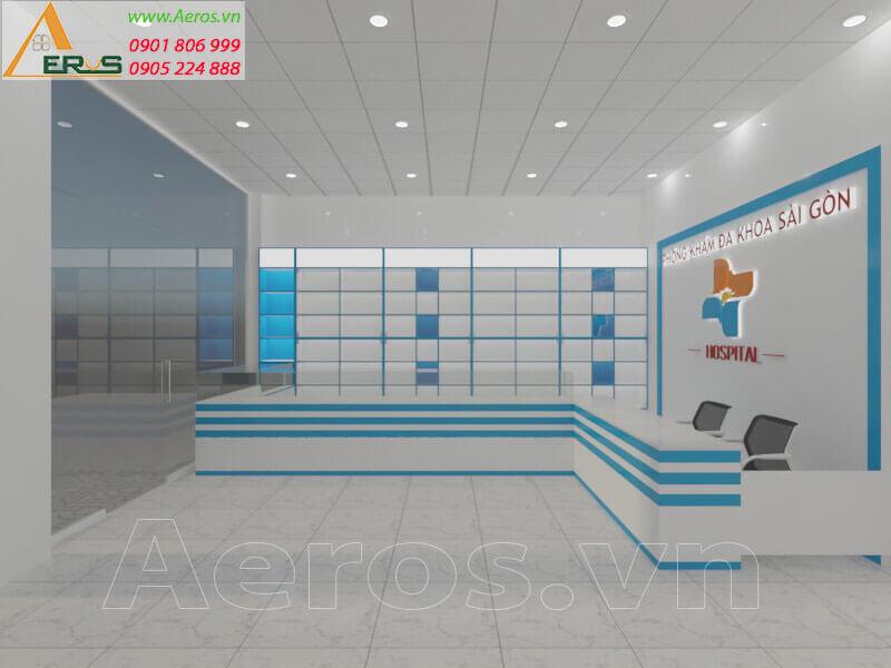 Thiết kế thi công phòng khám đa khoa Sài Gòn