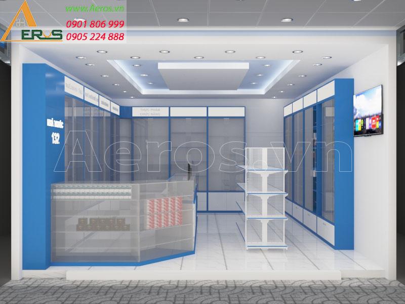 Thiết kế nhà thuốc tây GPP số 132 tại Tân uyên, Bình Dương