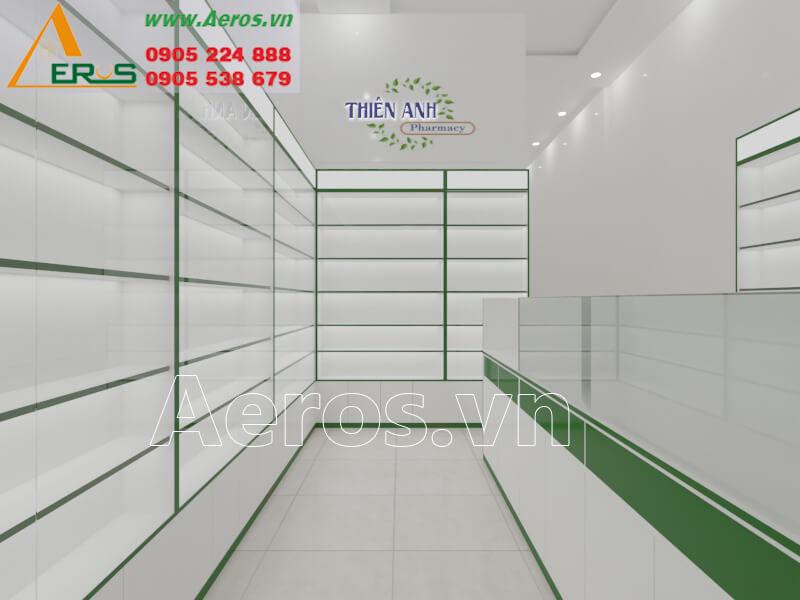 Thiết kế thi công nhà thuốc Thiên Anh