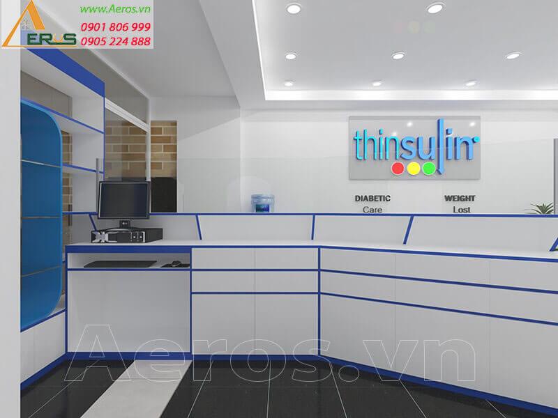 Thiết kế thi công nhà thuốc Thinsulin