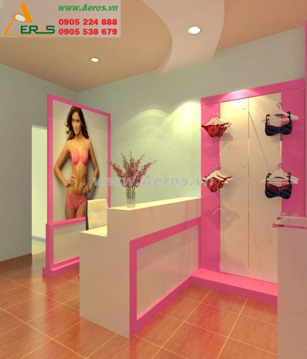 Hình ảnh thi công shop thời trang
