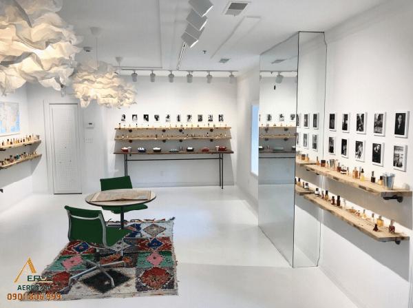 Top 10 mẫu thiết kế shop nước hoa đẹp nhất 2019