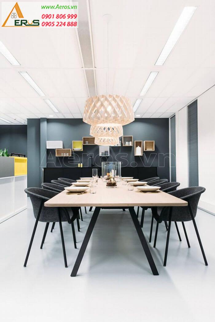 Thiết kế nội thất văn phòng Công ty CNC