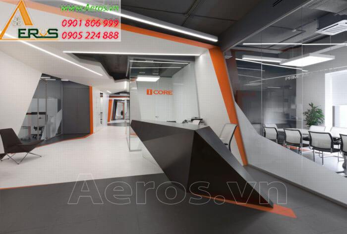 Thiết kế thi công nội thất văn phòng Icore