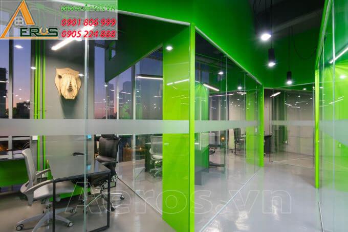 Thiết kế nội thất văn phòng Contactor