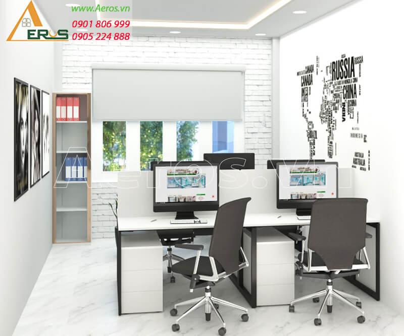 Hình ảnh thiết kế thi công nội thất văn phòng công ty Hali Group, quận Tân Bình, TPHCM