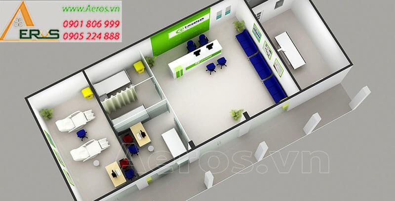 Thiết kế thi công nội thất văn phòng Imedtech