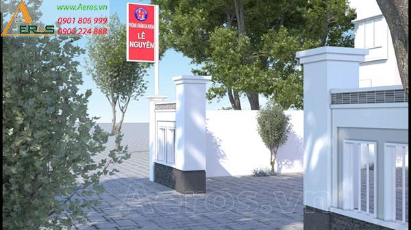 Thiết kế thi công phòng khám đa khoa Lê Nguyễn