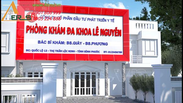 Thiết kế thi công phòng khám Lê Nguyễn