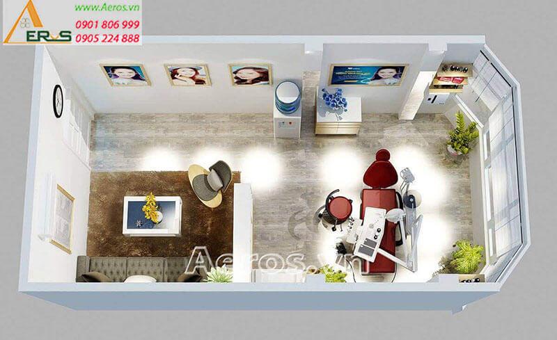Thiết kế thi công nội thất phòng khám nha khoa