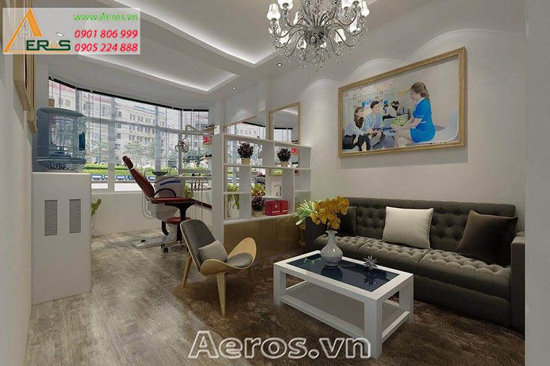 Thiết kế thi công nội thất phòng khám Ninh Lan