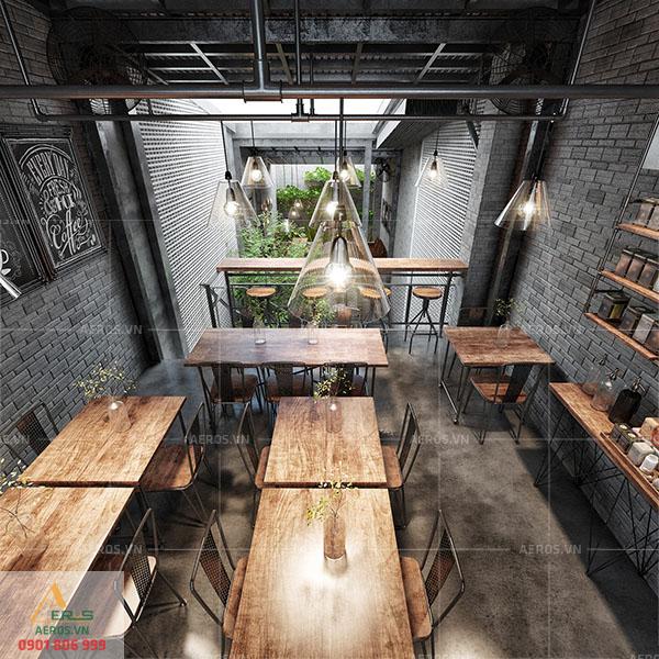 Thiết kế thi công nội thất quán cafe Anni Coffee tại quận Bình Thạnh, TP.HCM